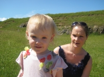 Annabelle and Lucy at Burton Dassett Country Park