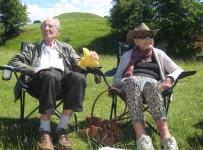 Beryl & Oz at Burton Dassett Country Park