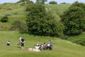 Picnic at Burton Dassett Country Park