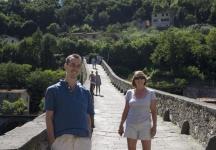 Adam and Mum on the Devil\'s Bridge
