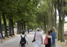 Walking the walls in Lucca
