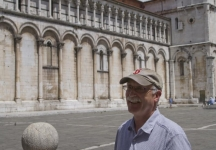 Greg in Lucca