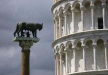 Romulus and Remus, Pisa