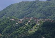 Village from Montefegatesi