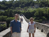 Adam and Mum on the Devil\'s Bridge