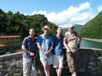 The boys on the Devil\'s Bridge