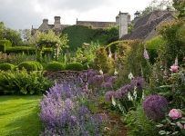 Westwell Manor, Oxfordshire; the rose garden
